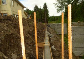 Stödmur i Stockholm. Projekt 7098709